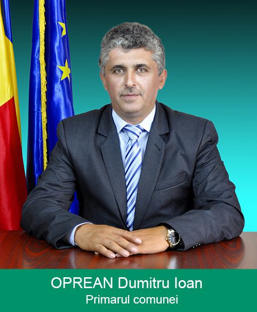 Oprean Dumitru - Primarul comunei Sântămăria Orlea