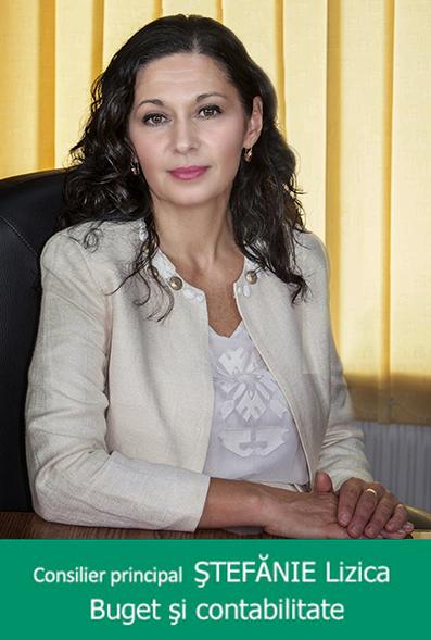 ȘTEFĂNIE Lizica - Consilier superior-
