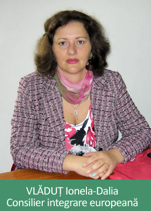 VLĂDUȚ Ionela Dalia - Consilier principal