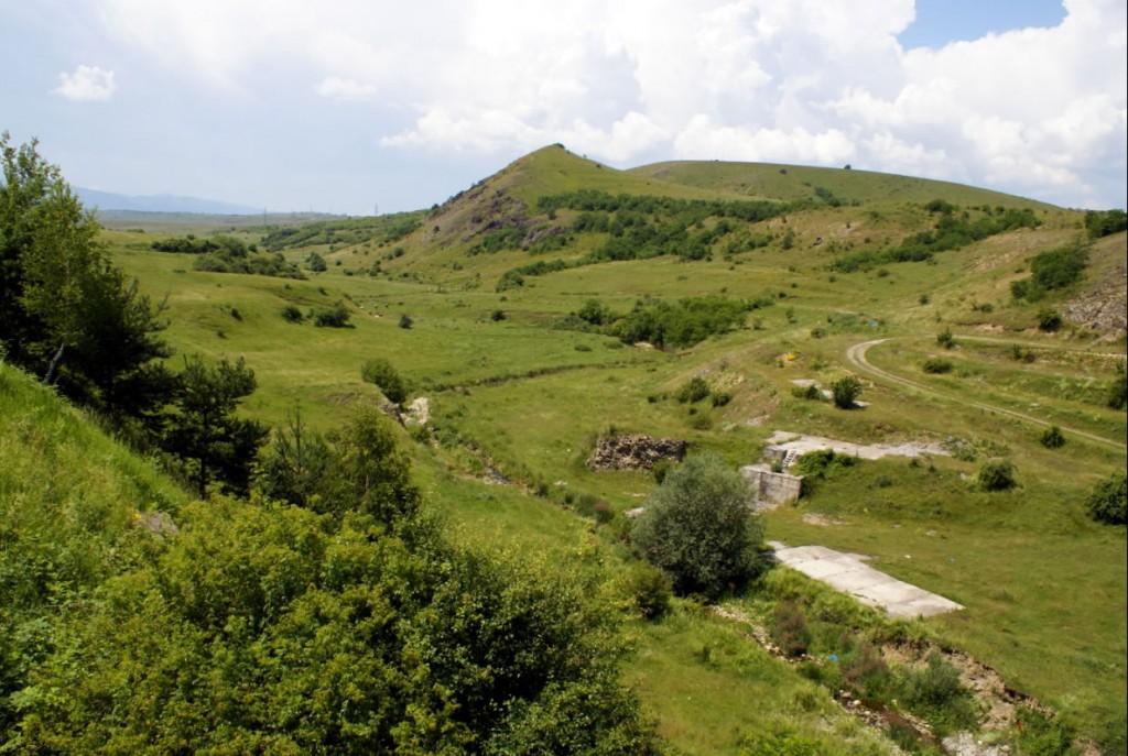 Ruinele romane de la Ciopeia