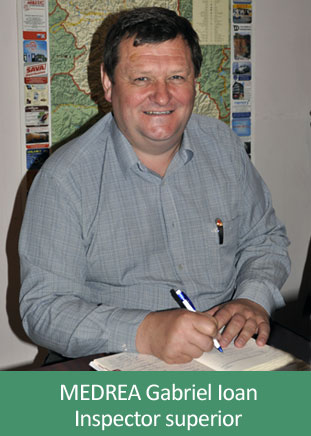 Medrea Gabriel Ioan - inspector superior