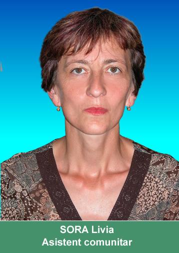 SORA Livia - asistent medical comunitar