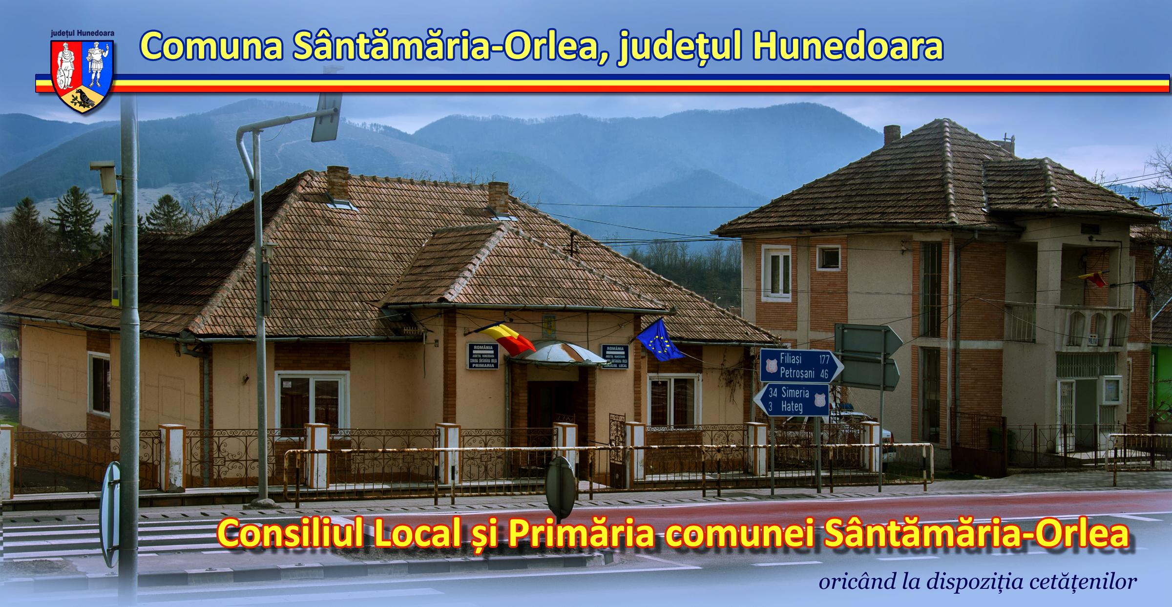 Primăria comunei Sîntămăria Orlea, județul Hunedoara