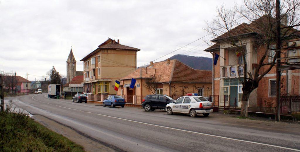 Sântămăria Orlea - centrul de comună