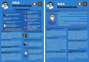 Anunț privitor la măsurile de combatere a coronavirusului